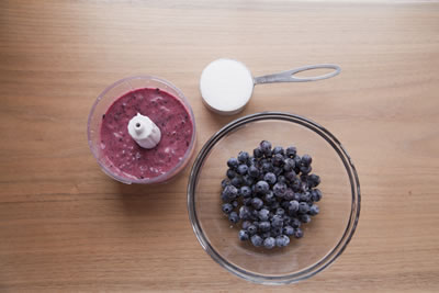 Blueberry Mousse Ingredients